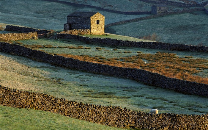 England - Yorkshire Dales Wallpaper Views:4454