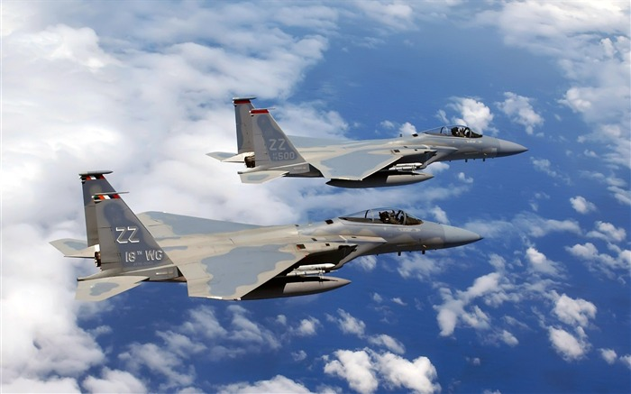 F-15C Eagle flies Over Okinawa-military aircraft Views:8943