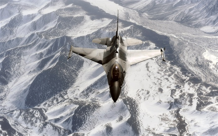 F-16 Aggressor Over the Joint Pacific Alaska Range-military aircraft Views:5297