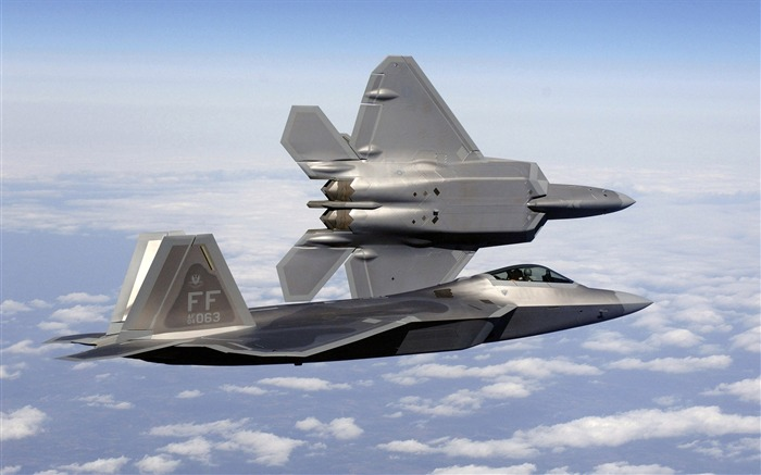 FA 22A Raptor Fighter- military aircraft - HD Wallpaper Views:19223