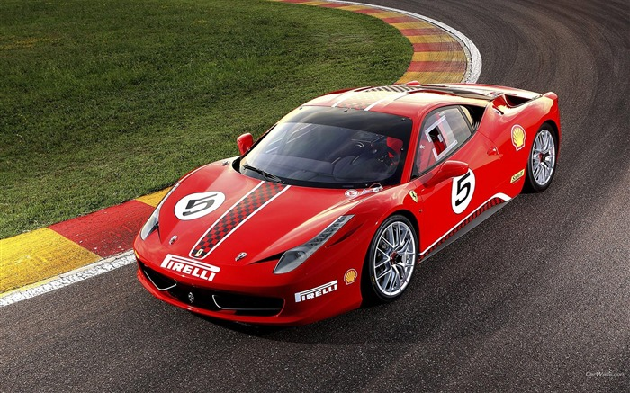 Ferrari 458 Challenge-Ferrari 458 Series Sports car wallpaper 04 Views:10364 Date:9/9/2011 11:15:39 AM