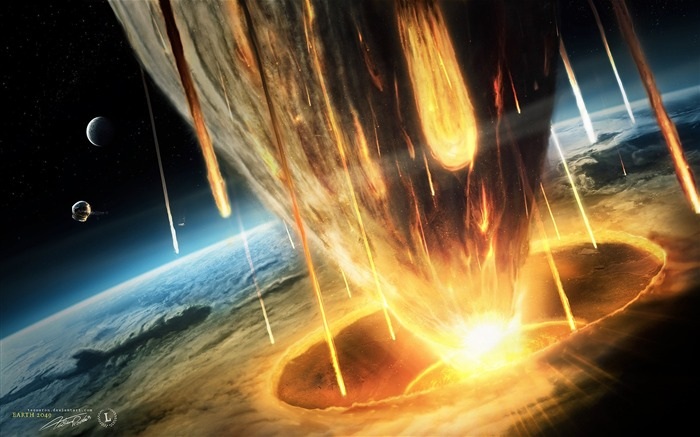 HD Space Art-Asteroid Armageddon- The End of the Earth Views:35133 Date:9/15/2011 6:08:06 AM