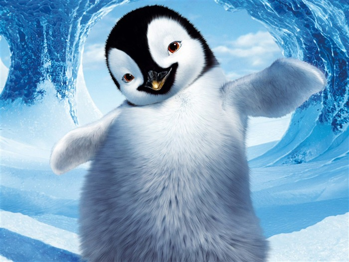 Happy Feet HD movie wallpaper Views:16557