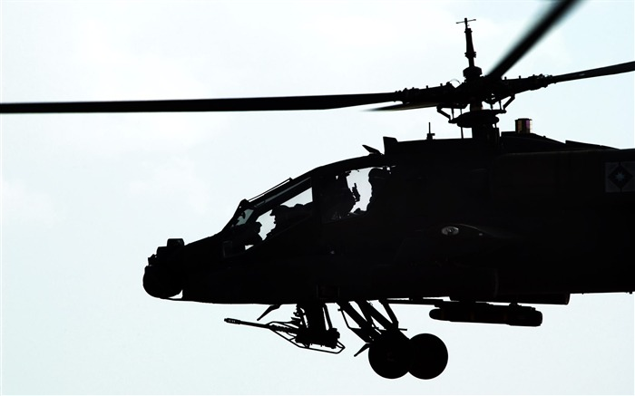 Helicopters close-up-Military aircraft - HD Wallpaper-fifth Series Views:4977