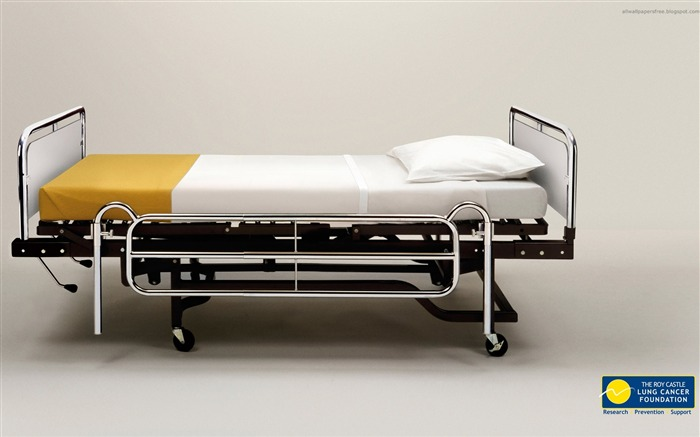 Hospital bed-Amazing advertising creative wallpaper Views:29208