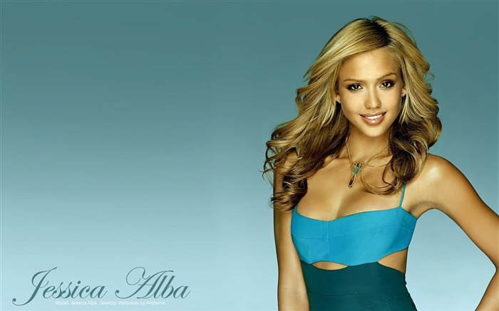 Jessica Alba- sexy burning in the sunset wallpaper 03 Views:13438