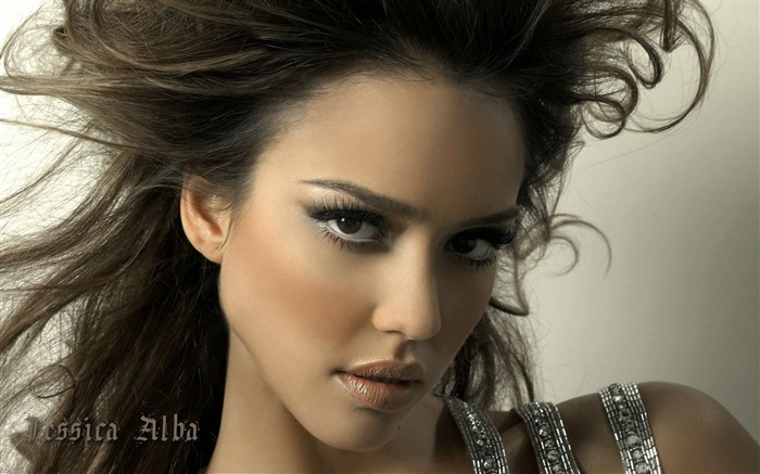 Jessica Alba- sexy burning in the sunset wallpaper 16 Views:5206