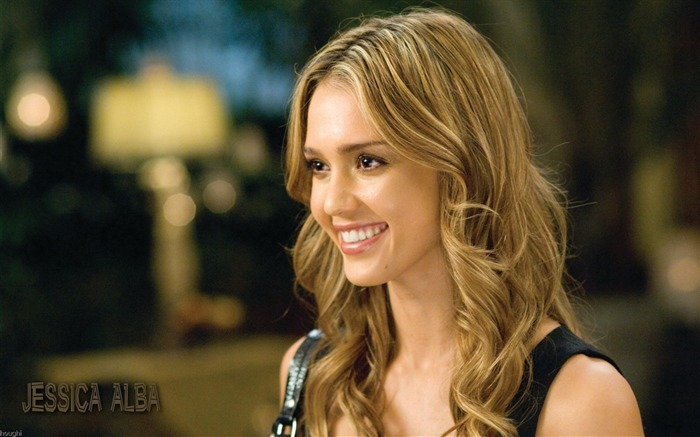 Jessica Alba- sexy burning in the sunset wallpaper Views:12997