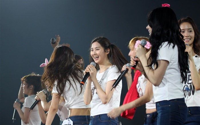 Fondo de pantalla de Korean Star-Girls Generation Concert 02 Vistas:5077