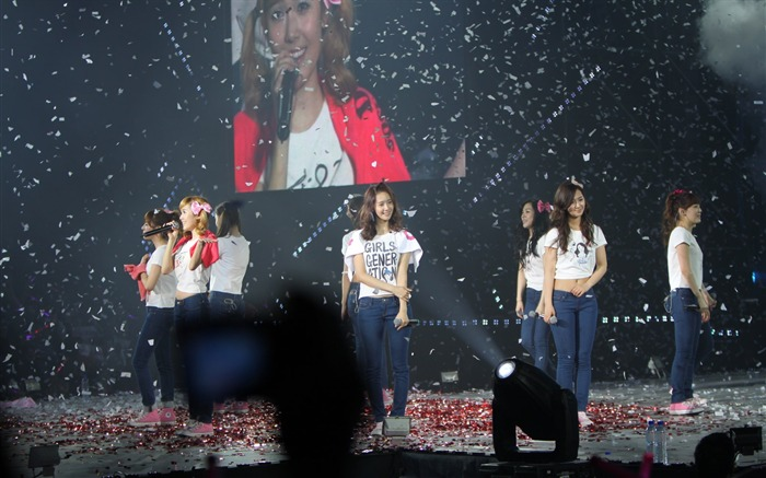 Fondo de pantalla de Korean Star-Girls Generation Concert 09 Vistas:4355