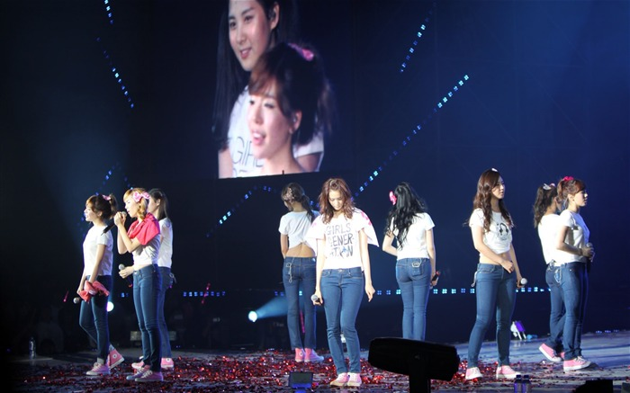 Fondo de pantalla de Korean Star-Girls Generation Concert 12 Vistas:5025