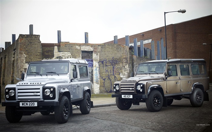 Land Rover Defender Series desktop wallpaper Views:16362