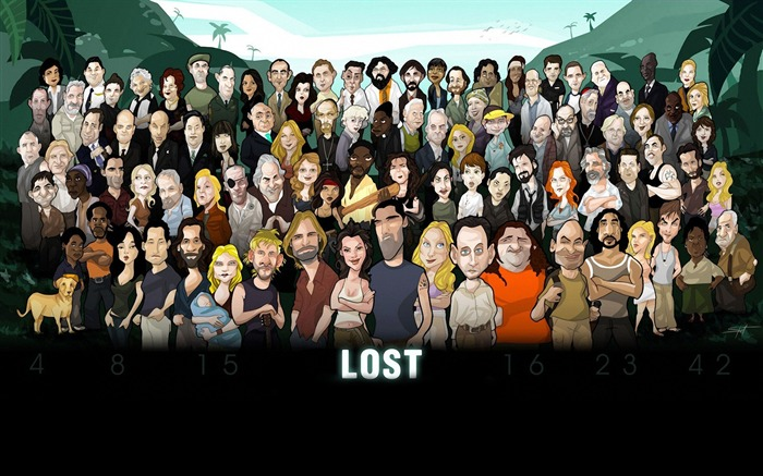 Lost Cartoon character 01 - HD Desktop Wallpaper Views:7098