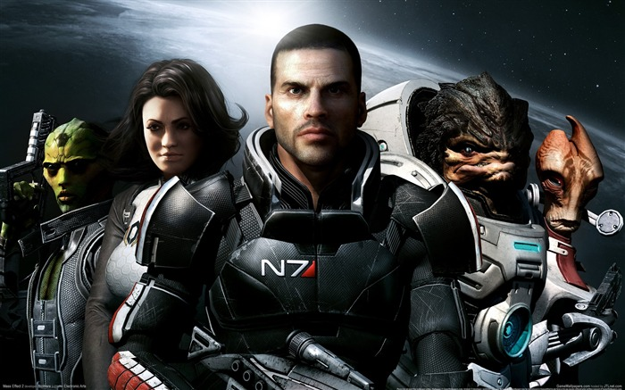 Mass Effect 2 Game HD Wallpaper Views:11478