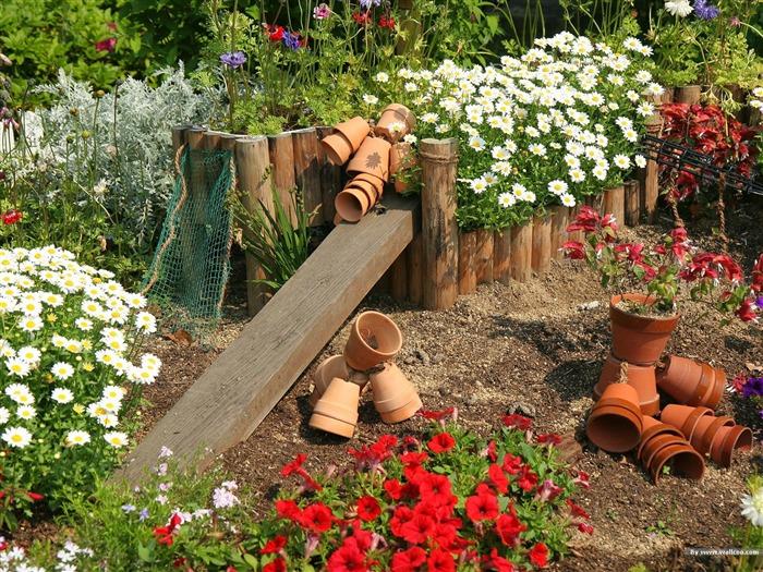 Сделать своими руками в огороде для красоты