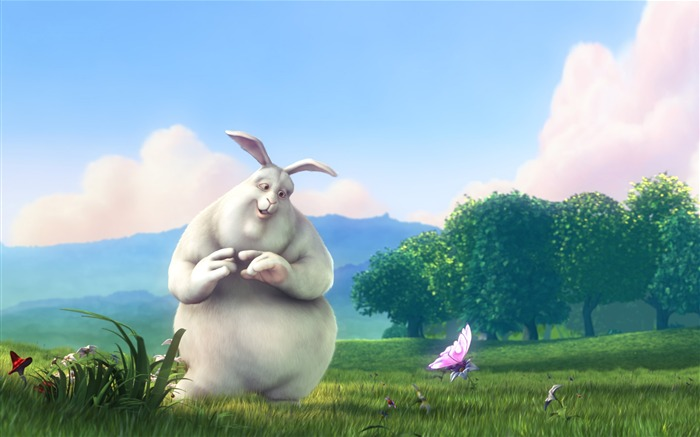 Rabbit Cartoon character - HD Desktop Wallpaper Views:18737