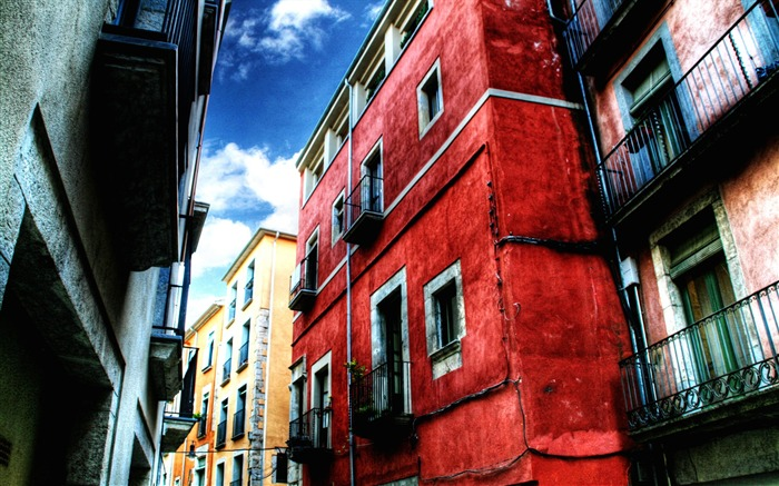 Red House-Urban landscape Girona Spain Views:7914