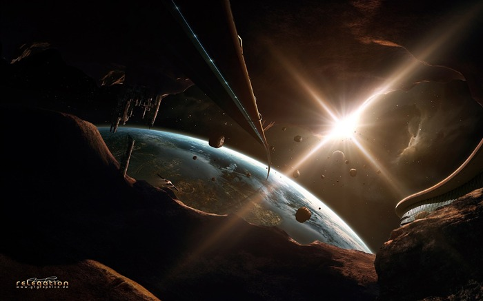 Sci-Fi Space Art-Relegation of the planet Views:7305 Date:9/15/2011 6:00:27 AM