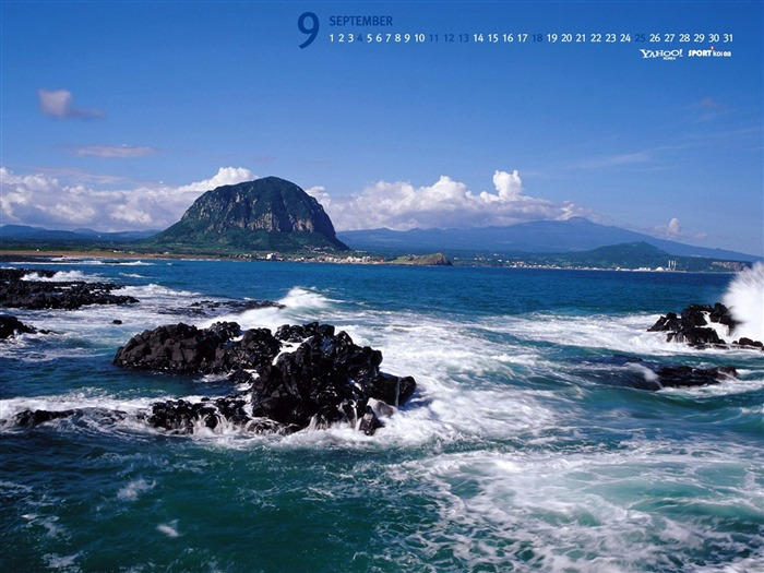 September-Calendar-Jeju Island Wallpaper Views:13631 Date:9/2/2011 5:36:25 AM