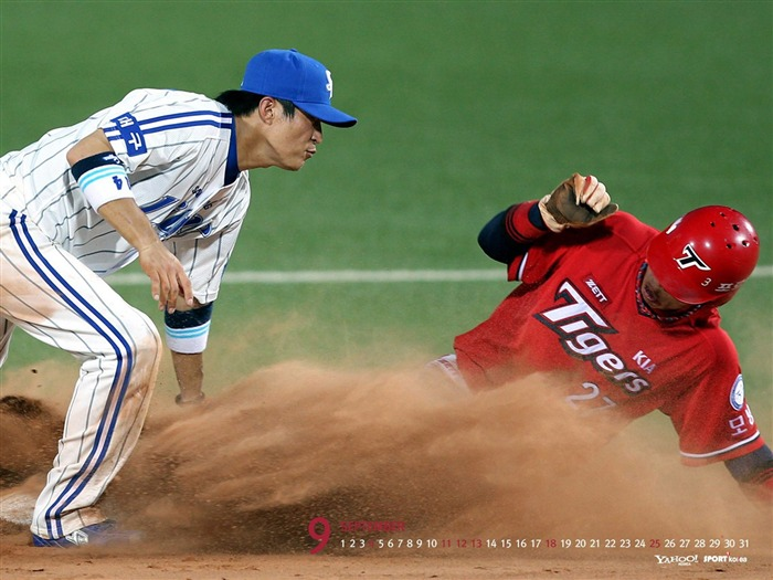 September-Calendar-Korean baseball wallpaper 02 Views:7144 Date:9/2/2011 5:40:10 AM