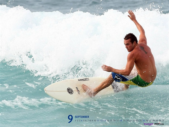 September-Calendar-surfing wallpaper 01 Views:4461 Date:9/2/2011 5:44:59 AM