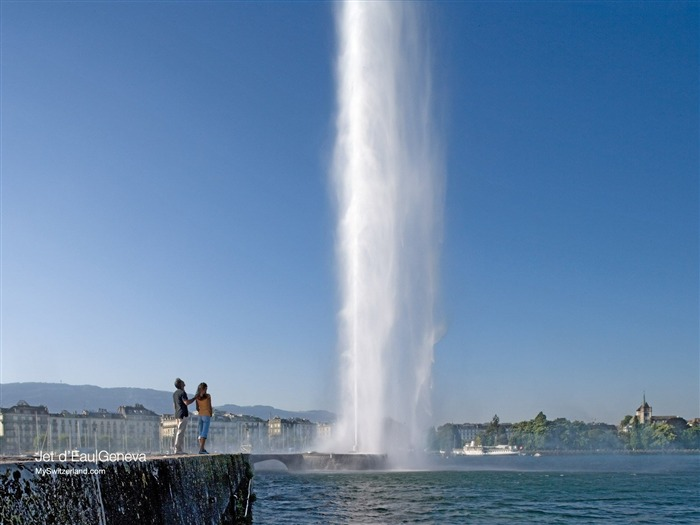 The world tallest fountain - the fountain in Geneva Wallpaper Views:7903 Date:9/19/2011 1:41:26 AM