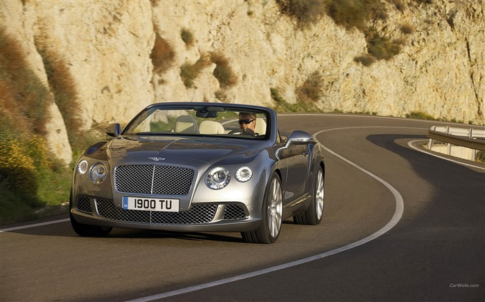 Top Convertible - Bentley Continental GTC-HD wallpaper Views:8518