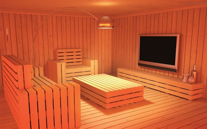 Wooden living room-Amazing advertising creative wallpaper Views:6122