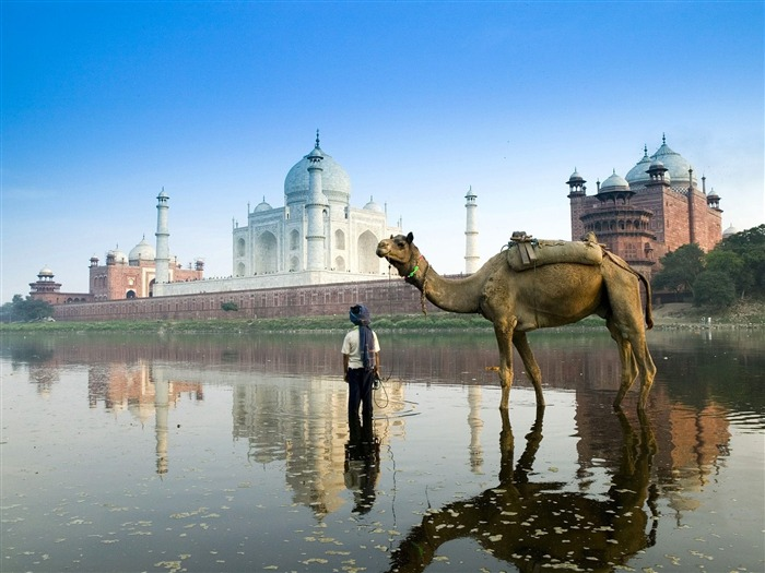 Yamuna River Agra India-Traveled the world Photography Wallpaper Views:5012 Date:9/27/2011 10:27:31 AM