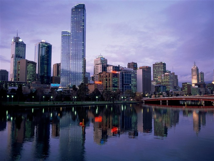 Yarra River Melbourne Australia-Traveled the world Photography Wallpaper Views:7418 Date:9/27/2011 10:29:23 AM