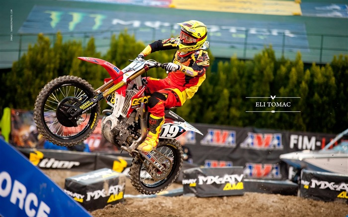 AMA Supercross Anaheim-the first stop-Eli Tomac wallpaper Views:5383