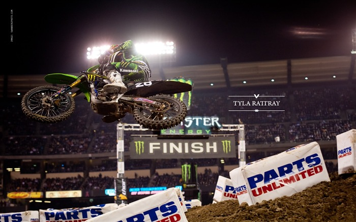 AMA Supercross Anaheim-the first stop-Tyla Rattray wallpaper Views:4453
