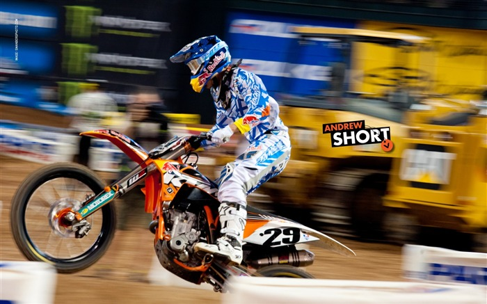 AMA Supercross Phoenix-the second stop-Andrew Short wallpaper Views:3497