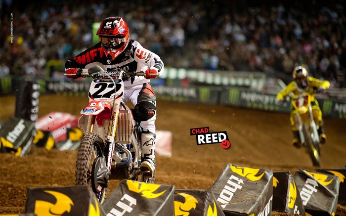 AMA Supercross Phoenix-the second stop-Chad Reed Wallpaper Views:10112