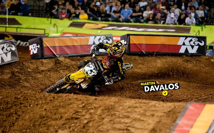 AMA Supercross Phoenix-the second stop-Martin Davalos wallpaper Views:3426