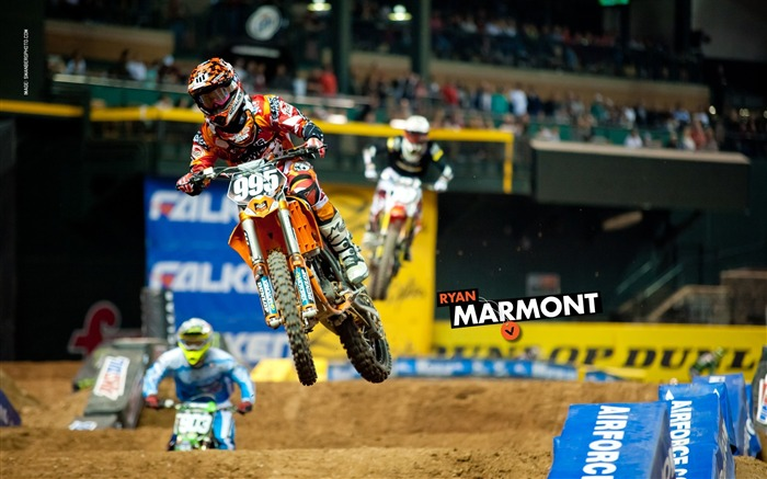 AMA Supercross Phoenix-the second stop-Ryan Marmont wallpaper Views:3673