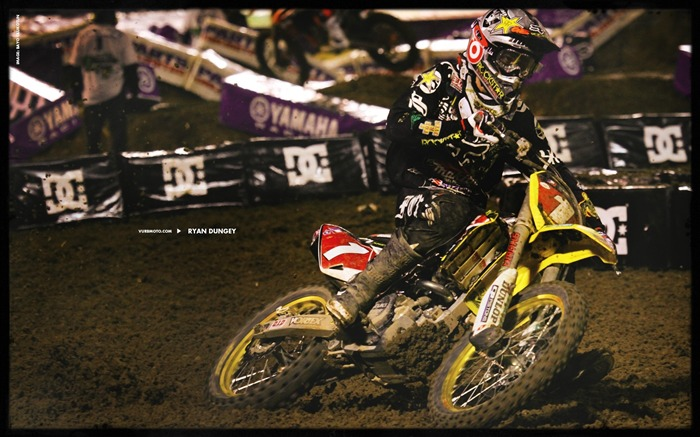 AMA Supercross fourth stop Auckland-Ryan Dungey wallpaper Views:5917