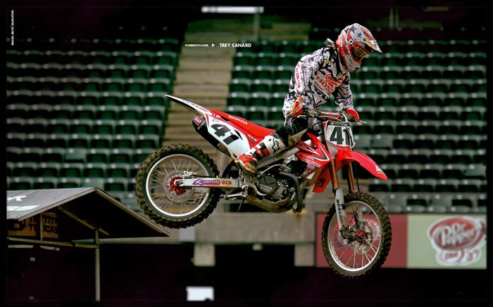 AMA Supercross fourth stop Auckland-Trey Canard wallpaper Views:3867