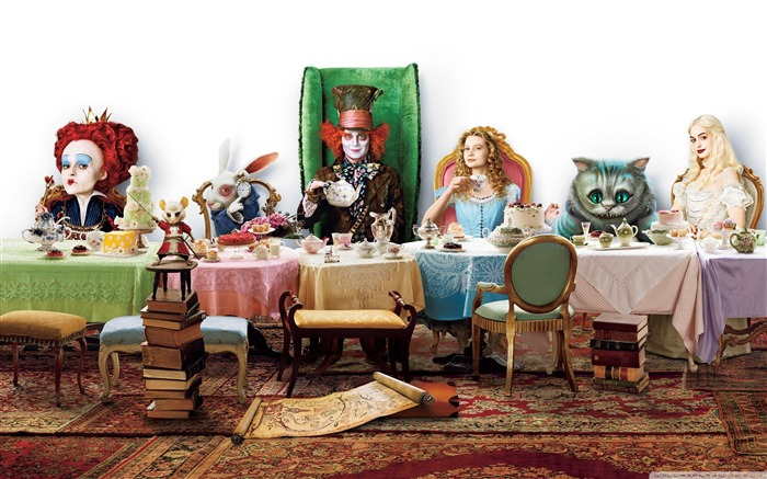 Alice in Wonderland Movie HD Wallpaper 01 Views:9118