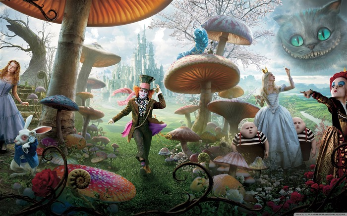 Alice in Wonderland Movie HD Wallpaper 02 Views:8073