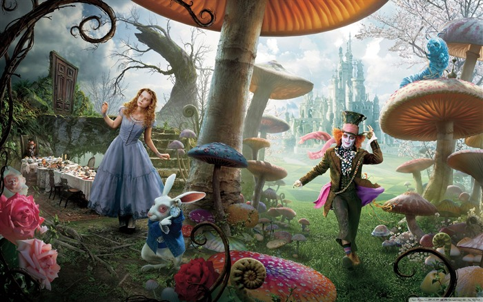 Alice in Wonderland Movie HD Wallpaper 03 Views:9399