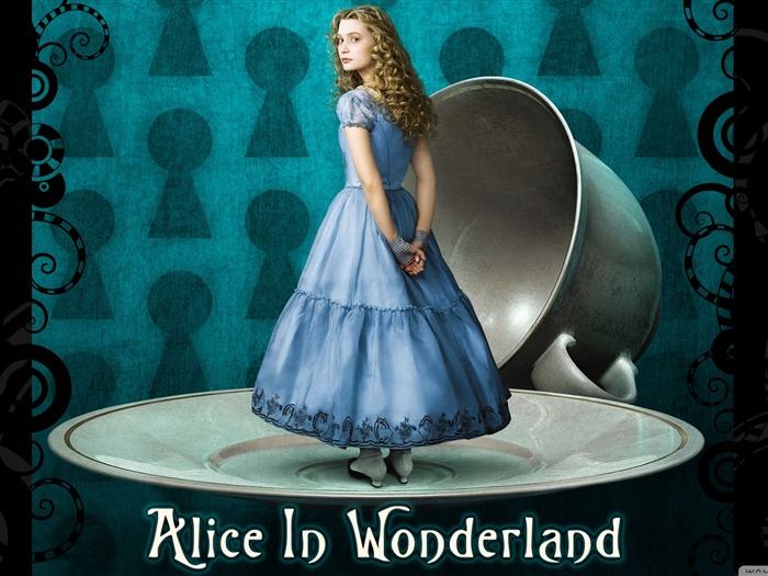 Alice in Wonderland Movie HD Wallpaper Views:16896