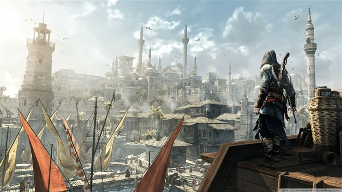 Assassin Creed Brotherhood Game Wallpaper 01 Views:7463