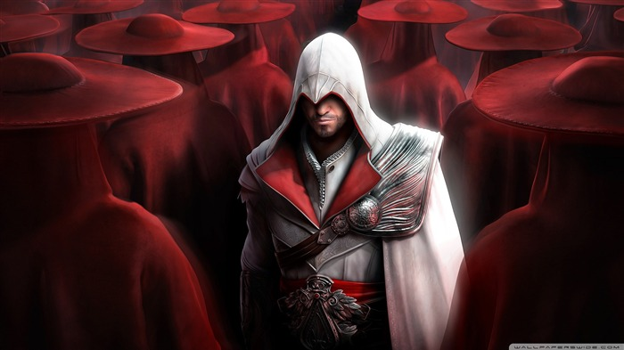 Assassin Creed Brotherhood Game Wallpaper 08 Views:5559
