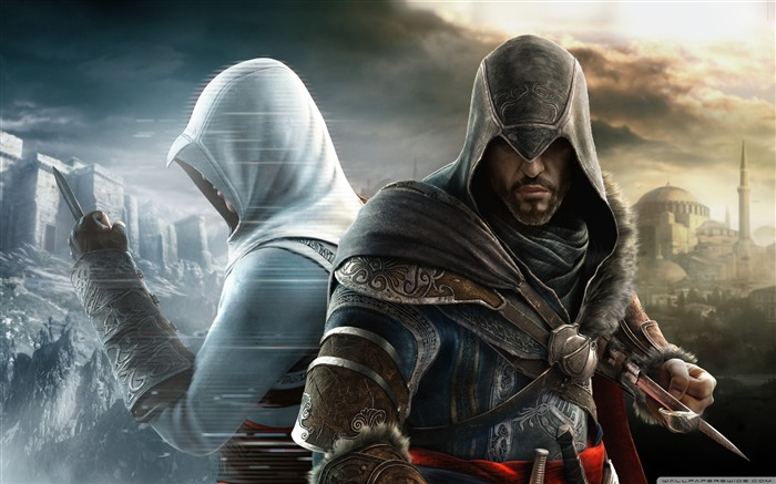 Assassin Creed Brotherhood Game Wallpaper second series Views:18235