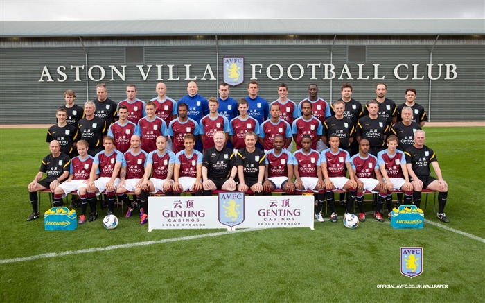 Aston Villa football club desktop wallpaper Views:13455
