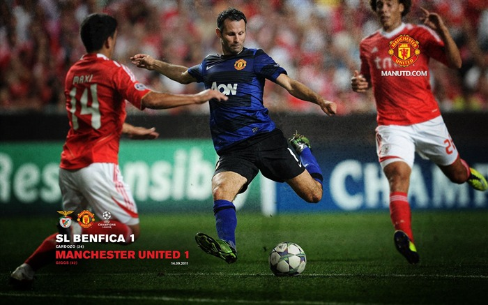 Benfica 1 Manchester United 1-Premier League matches in 2011 Views:6167