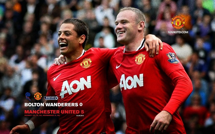 Bolton 0 United 5-Premier League matches in 2011 Views:6336