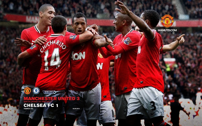 Chelsea 1 Manchester United 3-Star-Premier League matches in 2011 Views:7023