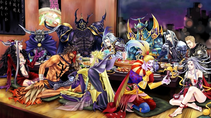Cross over-Classic game Final Fantasy Wallpaper Views:23498 Date:10/8/2011 2:15:50 AM
